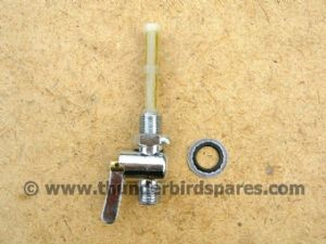 Petrol Tap, Reserve Only, Lever type, Ethanol resistant. 83-2801